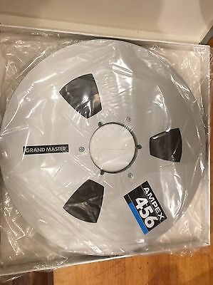 "Ampex 456 12.5inch 1/2"" Master Tape Reel. Brand New"