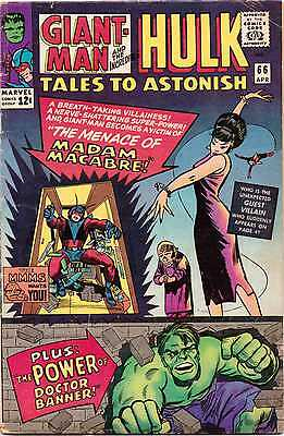Tales To Astonish (Vol: 1) #66, Cents Issue, Hulk & Giant Man