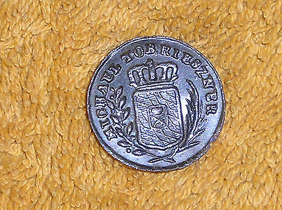 Medieval German Button 18th Century Bavarian Coat of arms Michael Tobi Rieszner