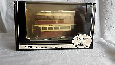 exclusive first editions wigan double decker bus