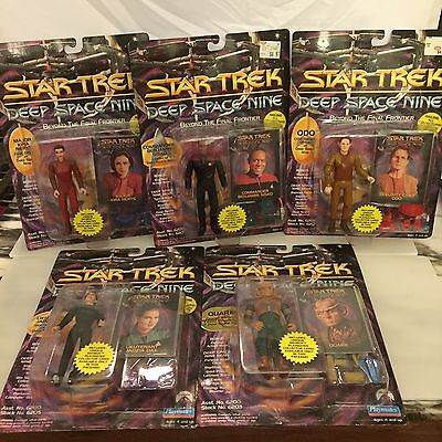 5 Playmates Star Trek Deep Space Nine Beyond The Final Frontier Action Figurines