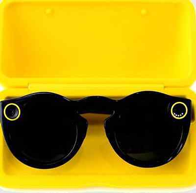 Snapchat Spectacles Black New BNIB Snap Smart Glasses Receipt Included