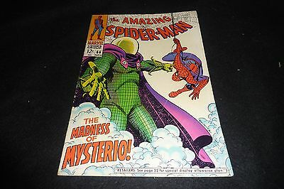 The Amazing Spider-Man #68 Vg/fn 5.0 Mysterio!