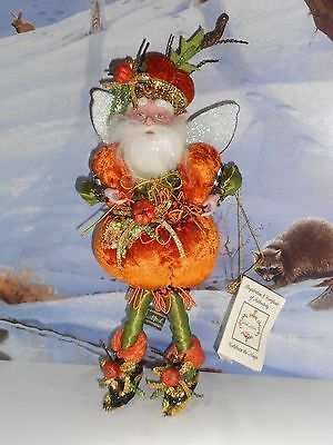Mark Roberts Pumpkin Party Fairy Limited Edition Sm #121 of 2500 VERY RARE 12""