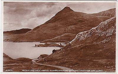 Quinag & Loch Assynt, Nr INCHNADAMPH, Sutherland RP