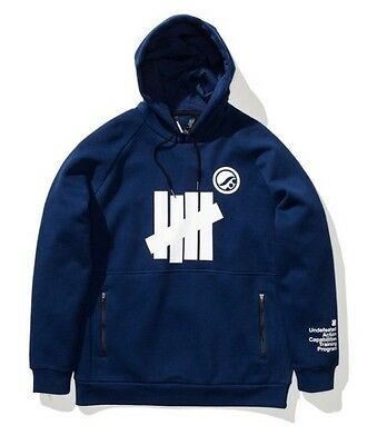 UNDEFEATED x SHOYOROLL x DUAL FORCES technical hoodie - Navy