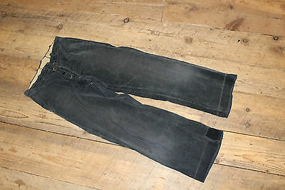 EARLY Vintage Button Fly Corduroy Pant