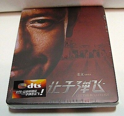 Let The Bullets Fly from Blufans blu-ray steelbook.New and sealed.