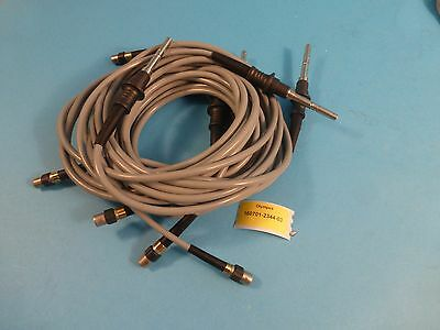 Olympus Fiber Optic Light guide cables, set of 5.