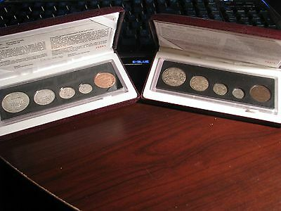 Canada 1908-1998* PROOF COMPLETE - MIRROR & MATTE - 90th RCM Anniversary Sets
