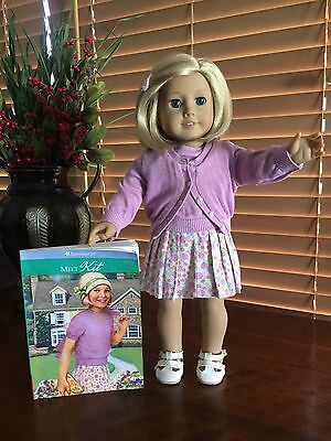 American Girl Doll Kit With Meet Outfit