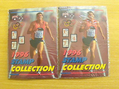 1996 Olympic Games. 1996 Stamp Collection. 2 unopened packs  Free T Post