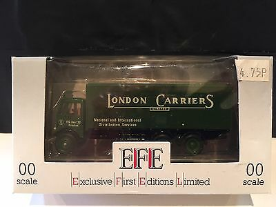 Efe 1/76 00 Scale London Carriers E10501