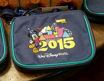 Authentic Disney Parks 2015 Small Pin Bag Case Purse Pins Tote