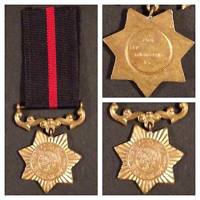 Military Medal Pakistan Star Named And Numbered