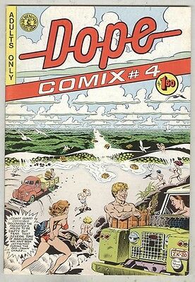 Dope Comix #4 VG+ 1981
