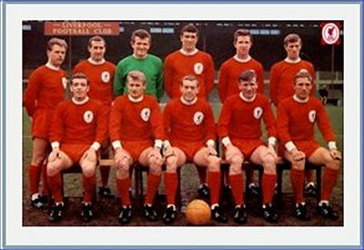 Fridge Magnet Football Liverpool 1965-66 LFC 7cm x 4.5cm Soccer Sports Bespoked
