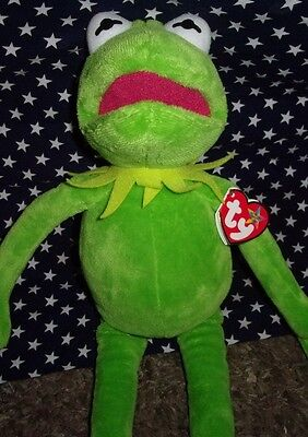 TY BEANIE BUDDIE KERMIT THE FROG from the muppets