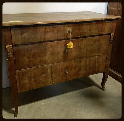 Late 18th ( 1798-1799) Century Chest of Drawers from Italy
