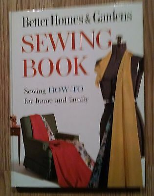 Better Homes And Gardens Sewing Book,sewing How-To For Home And Family-1961