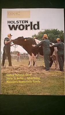 Holstein World 1981 Midwest Breeders Coop. Sire Issue + World Dairy Expo Show