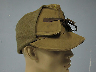 Wwi Rare Us Army M1907 Wool Winter Hat Cap Dated 1917 Mint Condition