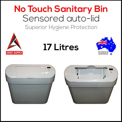 17L No Touch Automatic Sensor Sanitary Bin Hygiene Lady Waste Unit