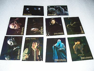 The LORD of the RINGS - The Fellowship of the Rings - Foil Chase Set