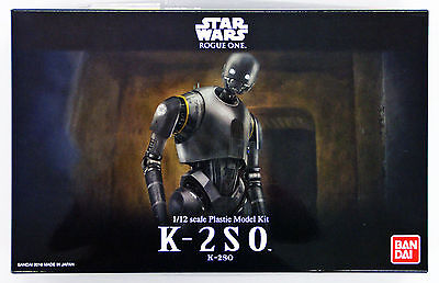 Bandai Star Wars K-2SO (Rogue One A Star Wars Story) 1/12 Scale 094333 PRE ORDER
