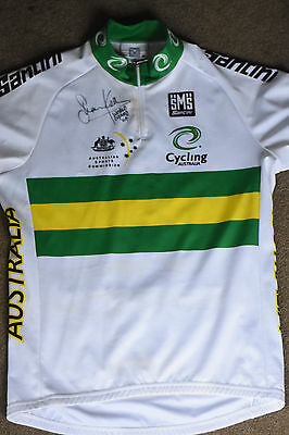 Shane Kelly World Champ x4 Signed Cyclones Jersey
