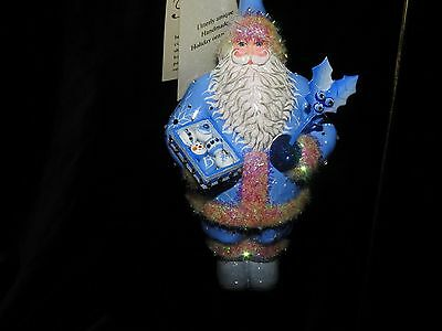 Patricia Breen Jeweled Season Of Wonder Holding Box Of Decorated Ornaments