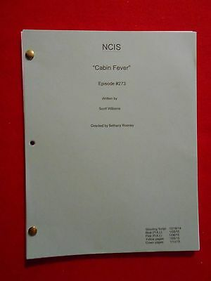 """Script from the TV series NCIS """"Cabin Fever"""""""