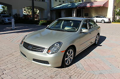 2005 Infiniti G Base Sedan 4-Door 2005 INFINITY G35 SEDAN, AUTOMATIC TRANSMISSION, WITH ONLY 43K MILES