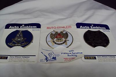 Masonic Auto Car Badge Emblems (3)