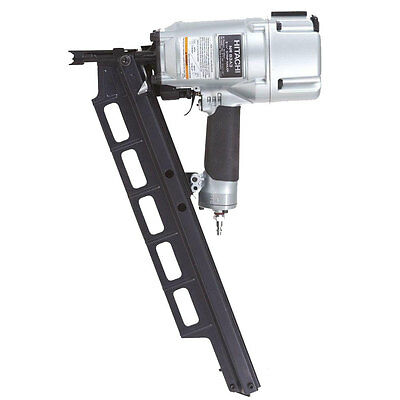 "3-1/4"" Plastic Collated Framing Nailer w/ Depth Adjust OB Hitachi NR83A3"