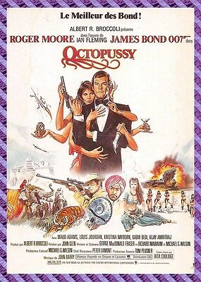 Postcard Poster Film - OCTOPUSSY