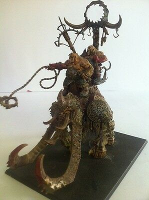 Warhammer Fantasy Age Of Sigmar Ogre Kingdoms Army Stonehorn Beastriders Painted