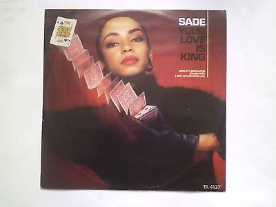 """Sade - Your Love Is King (12"""" Record)"""