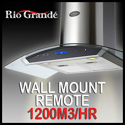 RIO GRANDE WALL MOUNT STAINLESS STEEL COMMERCIAL 900MM Range Hood Kitchen Canopy