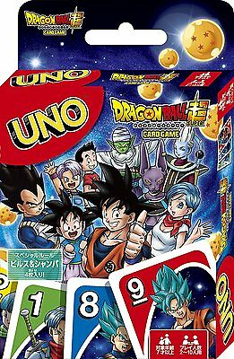UNO Dragon Ball Super Playing Cards Game Japanese Anime Dragonball From Japan