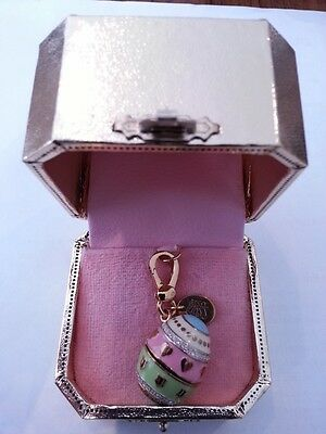 Juicy Couture Easter Egg with Yorkie Charm Limited Gold Edition