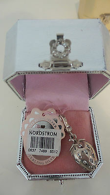 Juicy Couture Strawberry Sterling Silver Pave Charm Yjru1528