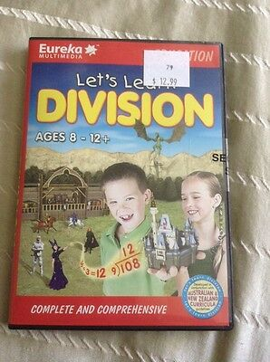 Educational Lets Learn Division For Mac And Windows Brand New