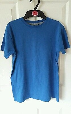 Bargain. Children's Blue T-Shirt. Age 11-12