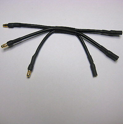 RC ESC to Motor 3.5mm x 120mm Extension Cable 100A