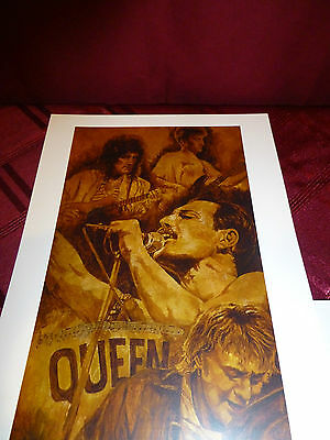 QUEEN Giclee Fine Art Reproduction Print
