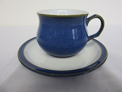 Denby Imperial Blue cup and saucer, Excellent condition (Lot 5)