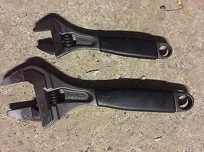 """Bahco Adjustable Spanners  6"""" 9070  & 8"""" 9031-T"""