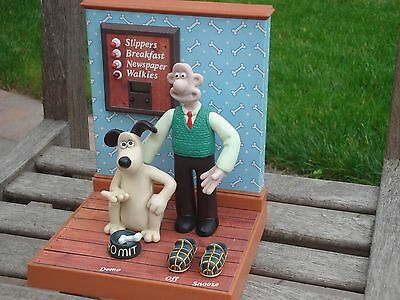 Wallace & Gromit Character Alarm Clock