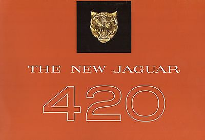 Brochure JAGUAR 420 1967- catalogue - prospectus